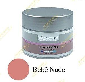 Helen Color - Builder Gel - Linha Silver Gel - Bebê Nude 35g