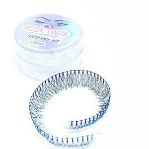 Cílios Tufos 100% Human Hair 10mm. Und.