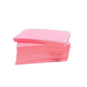 Algodão prensado rosa para unhas - 100% natural 1000 unidades - Helen Color