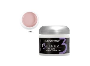 Gel Cuccio Pro T3 Led Uv Self Leveling Pink 28g