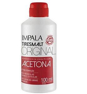 Impala Tiresmalt Original - Removedor de Esmalte com Acetona 100 ml