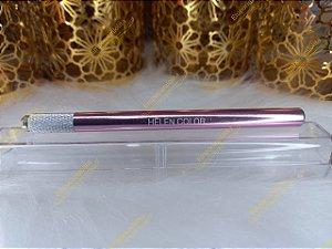 Caneta Tebori Microblanding e Micropigmentação Sobrancelha Aluminium Luxe