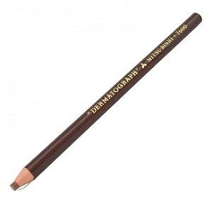 Lápis Dermatográfico Mitsubishi - Marrom