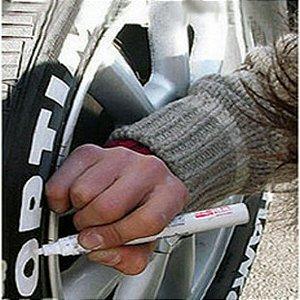 Caneta para pintar pneu