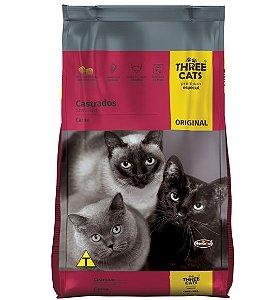 Three Cats Original Gatos Castrados 1kg