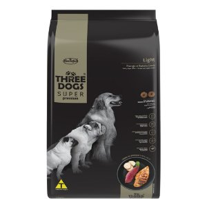 Three Dogs Super Premium Light Adultos