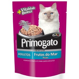 Sachê Primogato Adultos - Frutos do Mar
