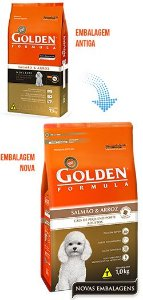 Golden Formula Cães Salmão e Arroz Mini Bits