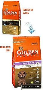 Golden Formula Cães Filhotes Carne e Arroz Mini Bits