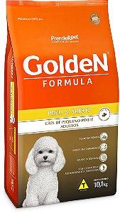 Golden Fórmula Cães Adultos Peru e Arroz Mini Bits