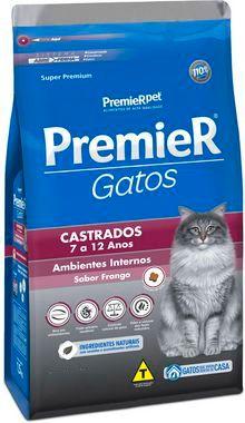 Premier Gatos Castrados de 7 a 12 anos - Frango
