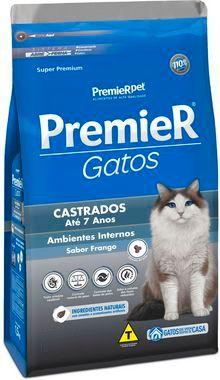 Premier Gatos Castrados até 7 anos - Frango