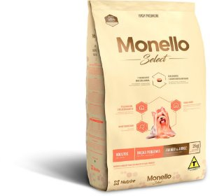Monello Select Dog Raças Pequenas - Frango e Arroz
