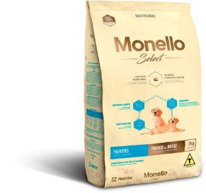 Monello Select Dog Filhotes - Frango e Arroz