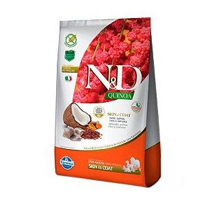 ND Quinoa Canine Skin - Peixe, Quinoa, Coco e Cúrcuma