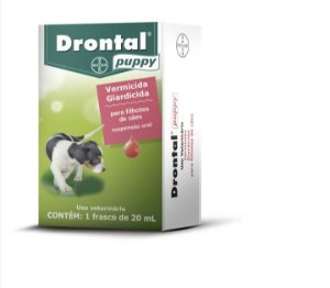 Vermífugo Drontal Puppy Suspensão Oral 20mL