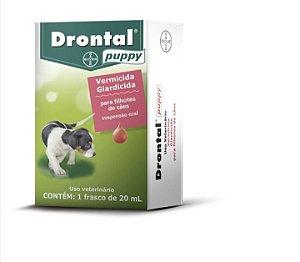 Vermífugo Drontal Puppy Suspensão Oral 20mL