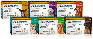 Simparic Antipulgas - Carrapatos - Sarnas / 3 Comprimidos