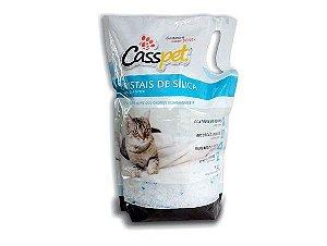 Areia para Gatos (Cristais Sílica)1,6Kg - Casspet