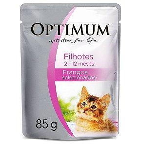 Sachê Optimum Gatos Filhotes 2-12 meses - 85g