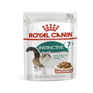Royal Canin Sachê Instinctive 7+ - Gatos Adultos