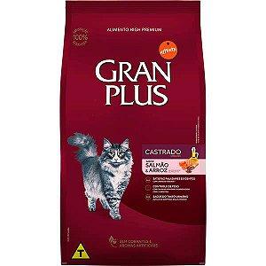 Gran Plus Gatos Castrados - Salmão e Arroz