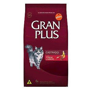 Gran Plus Gatos Castrados - Carne e Arroz