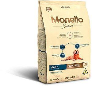 Monello Select Dog Senior 7+  Frango e Arroz