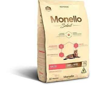Monello Select Cat Adultos - Carne e Fígado