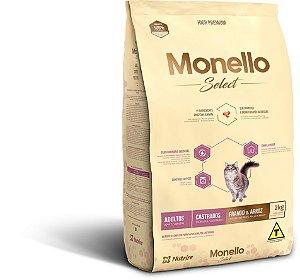 Monello Select Cat Castrados - Frango e Arroz