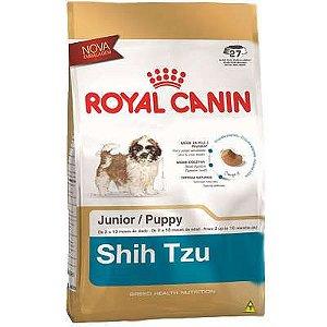 Royal Canin para Filhotes da Raça Shih Tzu