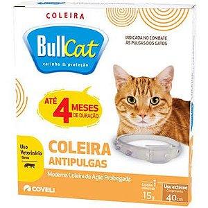Coleira Antipulgas Bullcat para Gatos - Coveli