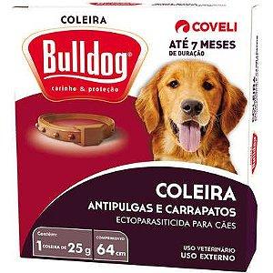 Coleira Antipulgas e Carrapatos  Bulldog 7 para Cães - Coveli