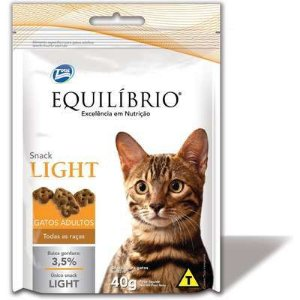 Equilíbrio Snack Light para Gatos Adultos - Total