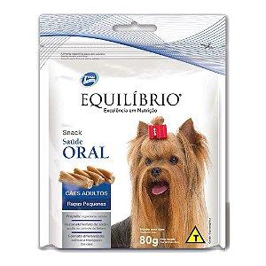 Equilíbrio Snack Saúde Oral Cães Raças Pequenas - Total