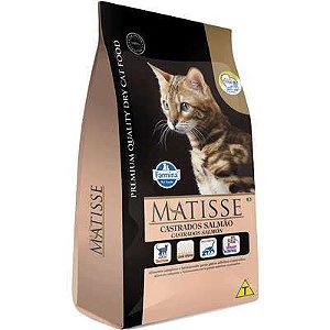 Matisse Salmão para Gatos Adultos Castrados - Farmina