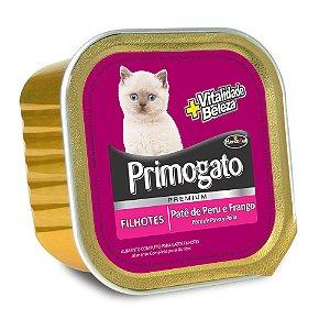 Primogato Premium Pate Peru e Frango Filhote 150g  - Hercosul
