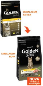 Golden Gatos Adultos Frango