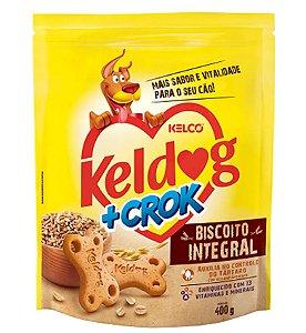 Biscoito Integral +Crock Keldog para Cães 400g
