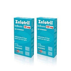 Zelotril - Enrofloxacina - 12 Comprimidos