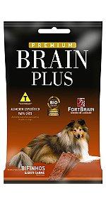 Bifinhos Assados Sabor Carne Brain Plus 500g - FortBrain