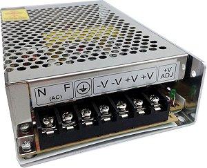 CONVERSOR(FONTE) AUT AC/DC 12,8V 10A EFM-1210
