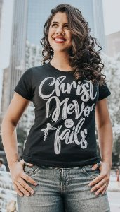 "Babylook ""CHRIST NEVER FAILS"""