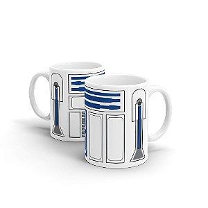 Caneca em Cerâmica Star Wars R2-D2 350 ml - 1 unid.