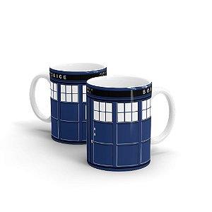 Caneca em Cerâmica Doctor Who Tardis 350 ml - 1 unid.