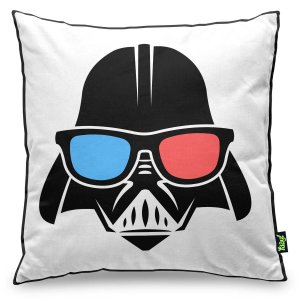Almofada Star Wars Empire - Darth Vader Stormtrooper 3D 40 x 40 cm