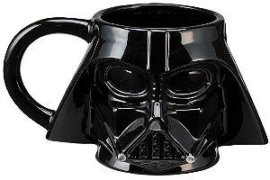 Caneca Esculpida em Cerâmica Star Wars Darth Vader 510 ml
