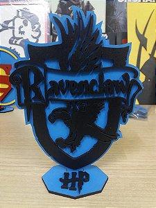 Brasão em MDF Colorido Harry Potter - Corvinal 14,5 x 15,0 cm
