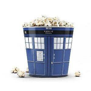 Balde de Pipoca Doctor Who Tardis 3 Litros