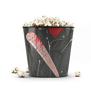 Balde de Pipoca The Walking Dead Negan e Lucille 3 Litros